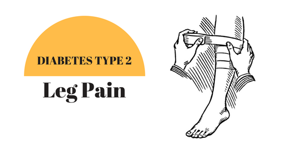 Dealing with chronic leg pain due to type 2 diabetes